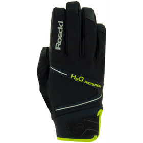Roeckl Rhone Bike Gloves black/yellow